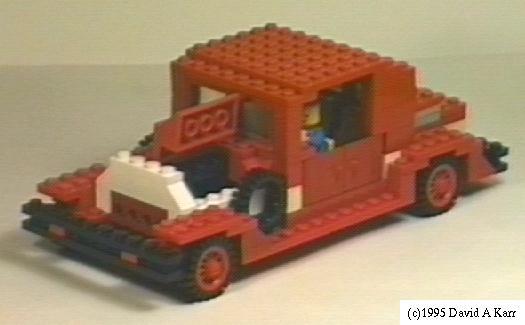 LEGO Vehicles by David A. Karr